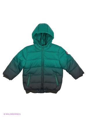 Куртка Mayoral. Цвет: голубой, зеленый