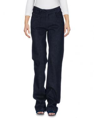 Джинсовые брюки MALO. Цвет: синий