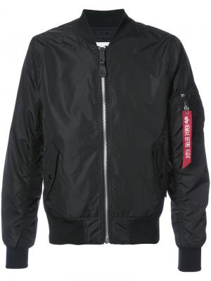Куртка L-2B Dragonfly Alpha Industries. Цвет: чёрный
