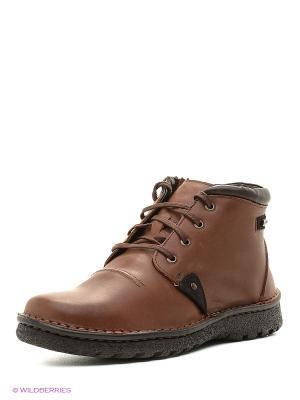 Ботинки Goergo. Цвет: темно-коричневый