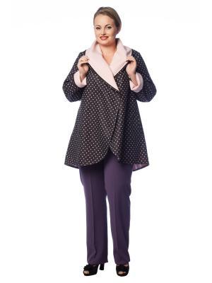 Пальто BERKLINE. Цвет: коричневый, розовый