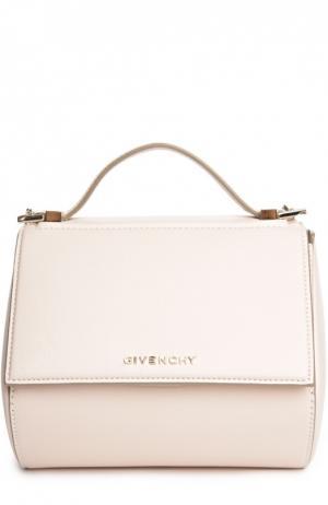 Кожаная сумка Pandora Box Givenchy. Цвет: розовый