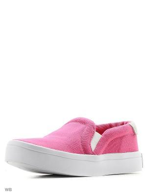 Слиперы CourtVantage SLIP ON K Adidas. Цвет: розовый