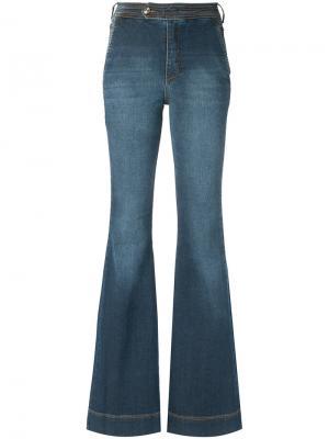 Wide leg jeans Tufi Duek. Цвет: синий