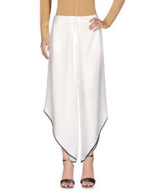 Повседневные брюки REVISE. Цвет: белый