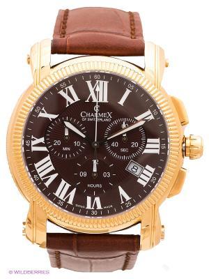 Часы CHARMEX. Цвет: коричневый, золотистый