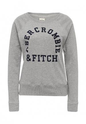 Свитшот Abercrombie & Fitch. Цвет: серый