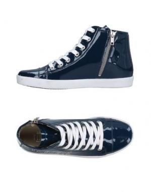 Высокие кеды и кроссовки ALVIERO MARTINI 1a CLASSE. Цвет: темно-синий