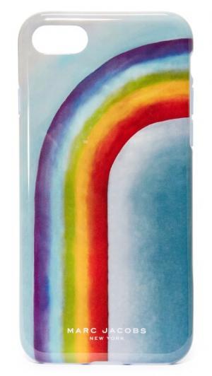Чехол для iPhone7 с принтом в виде радуги Marc Jacobs