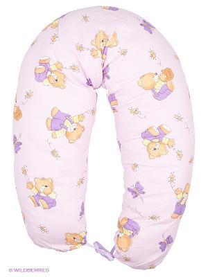 Подушка для беременных и кормящих ФЭСТ. Цвет: лиловый