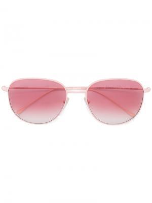 Объемные солнцезащитные очки Prism. Цвет: розовый и фиолетовый