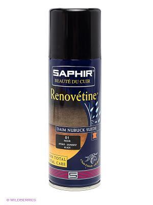 SAPHIR- Аэр.для замши SPECIAL Daim Nubuk Saphir. Цвет: черный