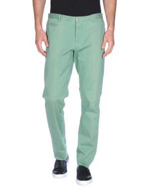 Повседневные брюки ALTEA DAL 1973. Цвет: светло-зеленый