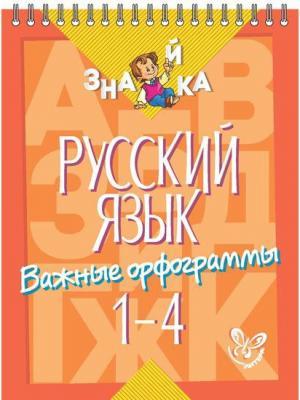 Комплект №36.Знайка 1-4 классы.Русский язык.Орфограммы,все виды разборов. ИД ЛИТЕРА. Цвет: бежевый