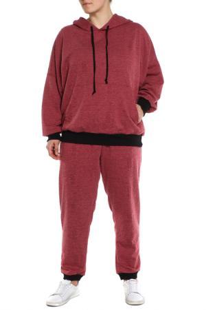 Джемпер, брюки АРТЕССА. Цвет: розовый