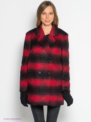 Пальто TOM FARR. Цвет: красный, черный