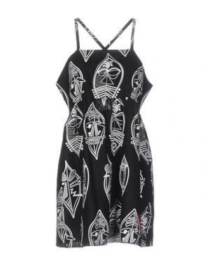 Короткое платье STUSSY. Цвет: черный