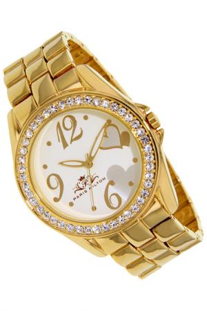Watches Paris Hilton. Цвет: golden and white