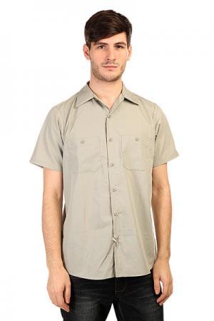Рубашка  No Bs Light Grey Independent. Цвет: серый