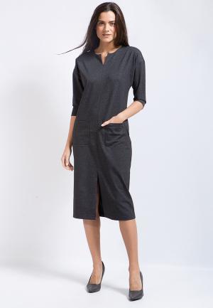 Платье Finn Flare. Цвет: черный