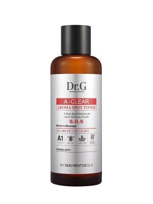Тоник с арома-маслами для проблемной кожи A-Clear, 170 мл. Dr.G. Цвет: белый