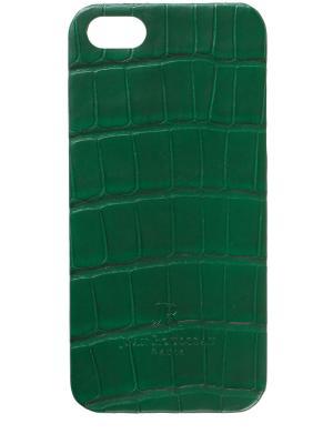 Чехол для IPhone 6+ Jean Rousseau. Цвет: зеленый