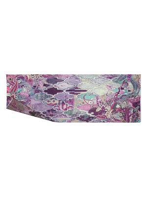 Палантин Eleganzza. Цвет: бирюзовый, лиловый, фиолетовый