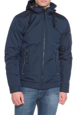Куртка BLACK VINYL. Цвет: 2-2 темно-синий