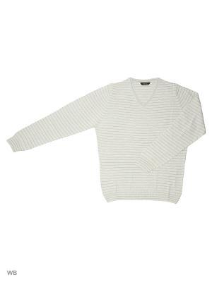 Пуловер GALS. Цвет: голубой, серый меланж