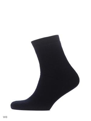 Носки мужские хлопковые с махрой MilanKo. Цвет: индиго
