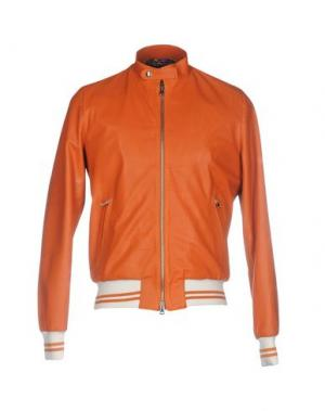 Куртка ROBERTO PEPE. Цвет: оранжевый
