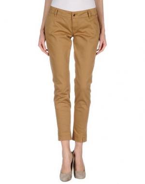 Повседневные брюки MET & FRIENDS. Цвет: хаки