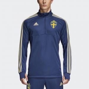 Тренировочная олимпийка Швеция  Performance adidas. Цвет: желтый