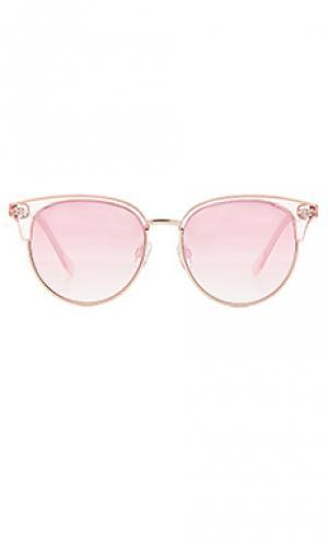 Солнцезащитные очки deja vu Le Specs. Цвет: румянец