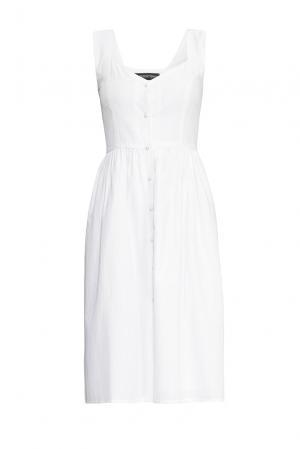 Платье из хлопка 164348 Anna Dubovitskaya. Цвет: белый