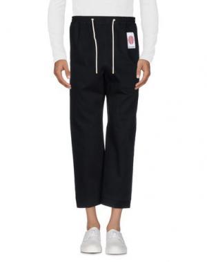 Джинсовые брюки UMIT BENAN. Цвет: черный