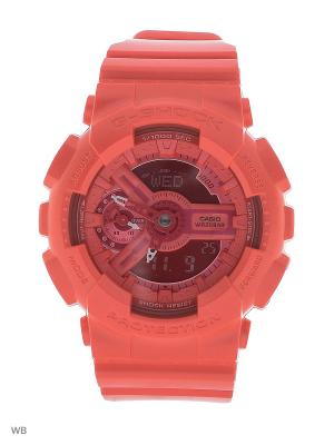 Часы G-Shock GMA-S110VC-4A CASIO. Цвет: розовый