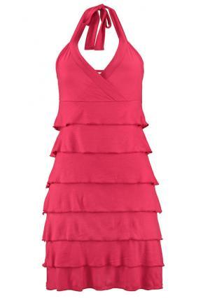 Пляжное платье BEACH TIME. Цвет: коралловый