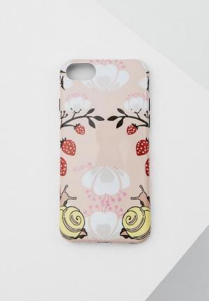 Чехол для iPhone Furla. Цвет: розовый