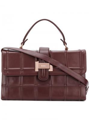 Прямоугольная сумка-тоут Rodo. Цвет: красный