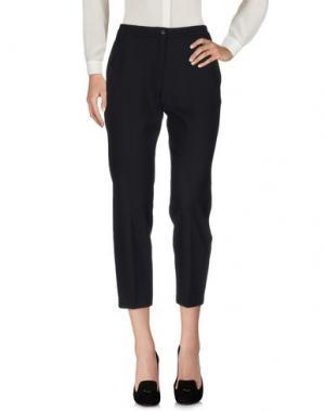 Повседневные брюки LAURA URBINATI. Цвет: черный