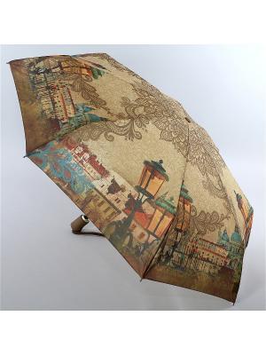 Зонт Zest. Цвет: бежевый, горчичный, серо-зеленый