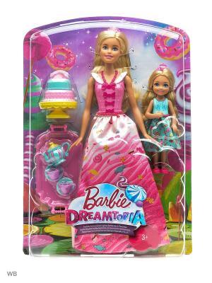 Игровой набор Чаепитие в Сладкограде Barbie. Цвет: бежевый