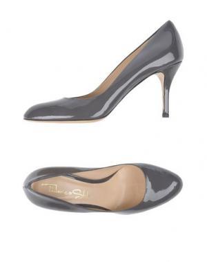 Туфли FEDERICA STELLA. Цвет: серый