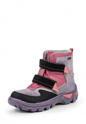 Ботинки трекинговые Bartek. Цвет: разноцветный