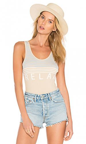 Боди relax Wildfox Couture. Цвет: цвет загара