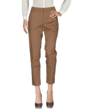 Повседневные брюки GUNEX. Цвет: хаки