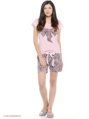 Пижамы Lelio. Цвет: розовый