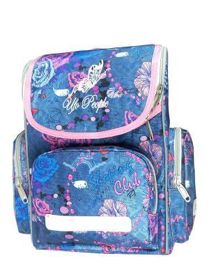 Рюкзак UFO PEOPLE. Цвет: голубой, розовый
