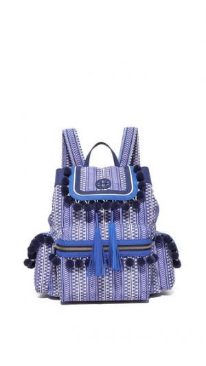 Нейлоновый рюкзак Scout с помпонами Tory Burch